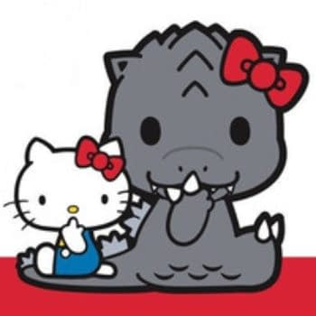 Godzilla And Hello Kitty Team Up To Celebrate Netflix's 'Monster Planet'