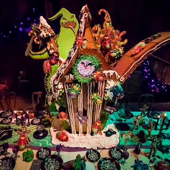 The 2017 Haunted Mansion Gingerbread House Is To Die For