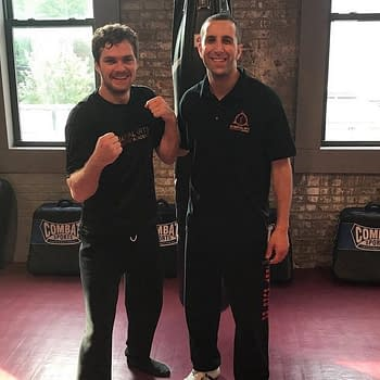 Finn Jones Is Back In The Gym Training For More Iron Fist