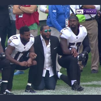 Ravens And Jaguars Players Take A Knee In Response To Trumps Comments