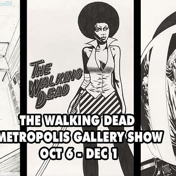Metropolis Gallery Unveils Stunning Walking Dead Original Art And Comic Exhibit During NYCC