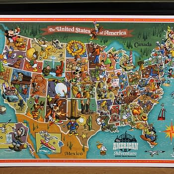 Disney Worlds American Adventure Character Line Celebrates The States: Who Did You Get