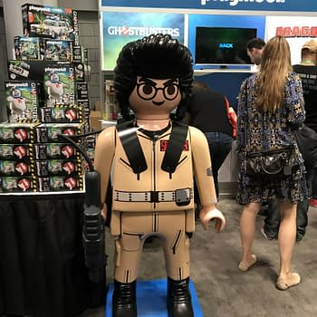 NYCC 2017 Playmobil Display: Ghostbusters And How To Train Your Dragon