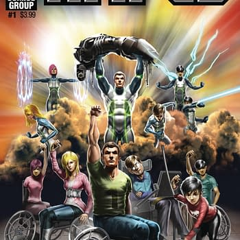 Amped: Hero Team With Disabilities By Brian Augustyn Leads Red Giant January 2018 Solicits