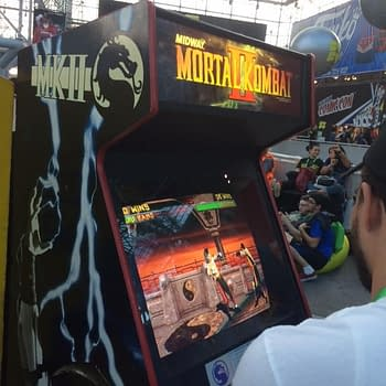 Arcade Chaser: Views From The NYCC 2017 Syfy Area Arcade