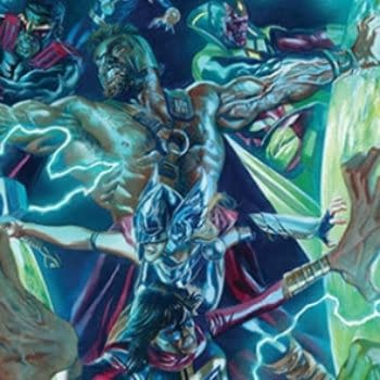 Avengers #672 cover by Alex Ross