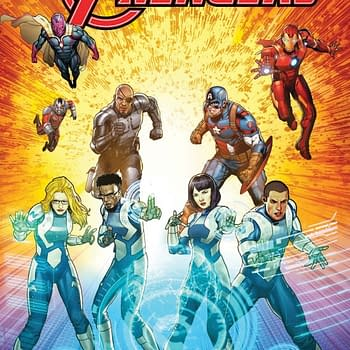 Marvels Avengers Team With Northrop Grumman Superteam In All-Ages Comic From Fabian Nicieza Sean Chen