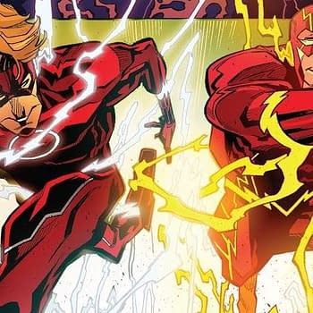 Its Flash Vs. Flash As DC Versus Pits Barry Allen Against Wally West