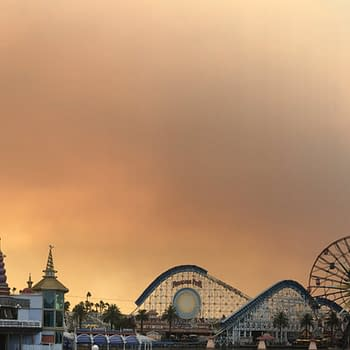 Anaheim Hills Fire Forces Disney Employees Inside