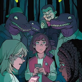 New Goosebumps Mini From Jen Vaughn And Michelle Wong Explores The Horrors Of Instagram