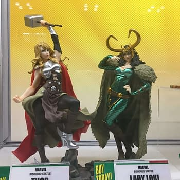 Kotobukiya Booth Pics From NYCC: Sexy Jason Voorhees, Agent Venom, And More