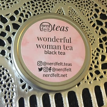 Nerd Food: Wonderful Woman Black Tea From Nerdfelt