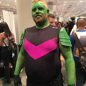 NYCC 2017 Saturday Cosplay: Defenders, X-Men, DBZ, Pennywise, And Scott Snyder