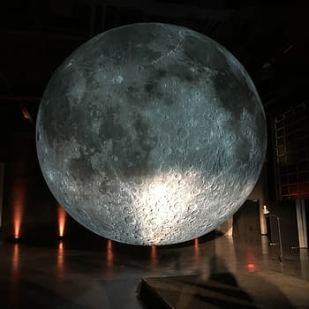 Andy Weir, Rosario Dawson, And Luke Jerram Light The Moon At Audible NYCC