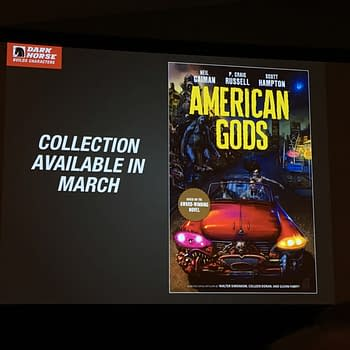 Next Years American Gods How Close The New Hellboy Movie Is To The Comics And More From Dark Horse At NYCC 2017