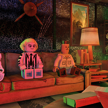 A Quick Romp Through LEGO Dimensions With Beetlejuice
