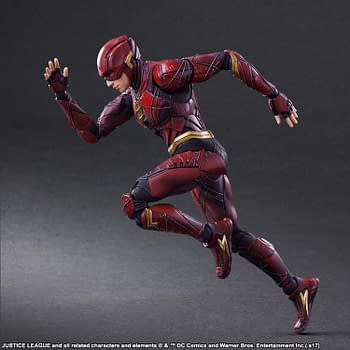 Flash Gets A Cool Play Art Figure That Makes His Movie Suit Awesome