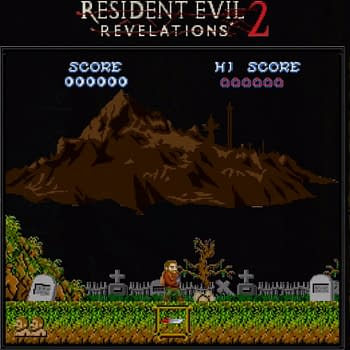 The Switch Version Of Resident Evil: Revelations Gets An 8-Bit Treatment