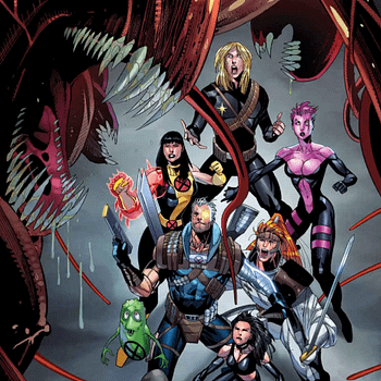 X-Mens Blink Gets A Physics-Defying New Costume On Cable #153 Cover