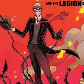 Sherlock Frankenstein and the Legion of Evil #1 cover by David Rubin