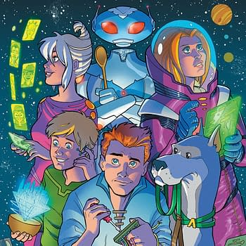 Meet The Jetsons In Palmiotti And Britos Jetsons #1 Preview From DC Comics