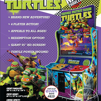 Were Getting A New TMNT Arcade Game Debuting At IAAPA