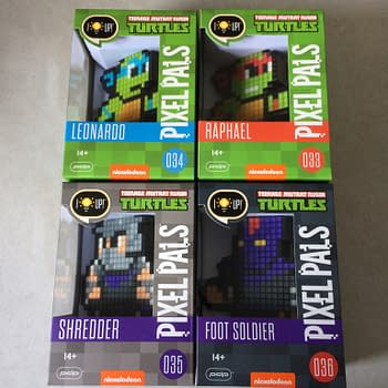 Pixels In A Half Shell: We Review Pixel Pals TMNT Line