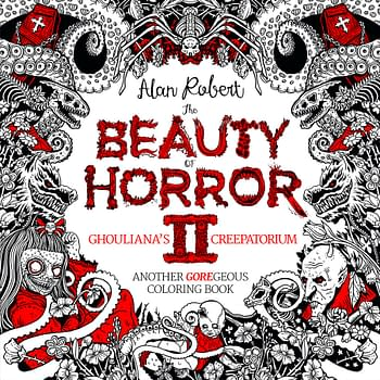 The Beauty Of Horror At Your Fingertips: A Macabre Coloring Book