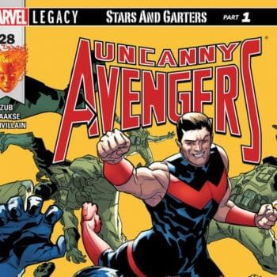Uncanny Avengers #28 cover by R. B. Silva and Edgar Delgado