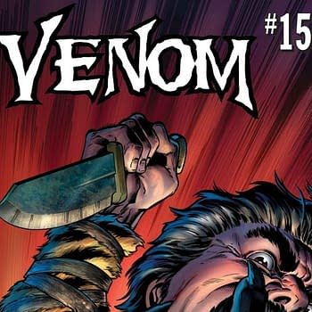 Venom #156 Review: Venom Versus Kraven The Hunter Fight