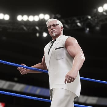 Worst Product Placement Ever: KFCs Colonel Sanders Joins WWE 2K18