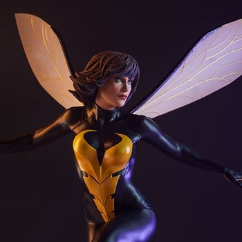 Wasp Gets A Ridiculously Awesome Statue From Sideshow