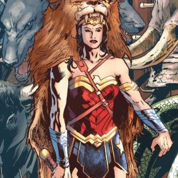 Wonder Woman #32 cover by Bryan Hitch and Alex Sinclair