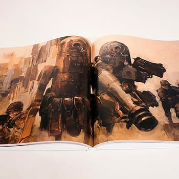 Now IDW Takes To Indiegogo For Ashley Wood's World War Robot Hardcover