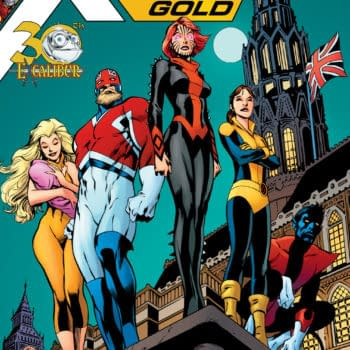 Excalibur Returns In January's X-Men Gold Annual, With A Cover By Alan Davis