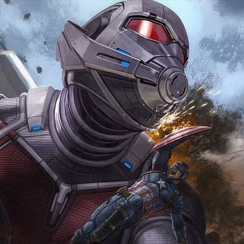 Captain America: Civil War Concept Art Shows Off Giant Man Versus Captain America