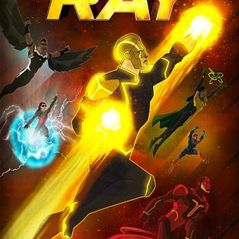 CW Seed Releases New Freedom Fighters: The Ray Promo Art
