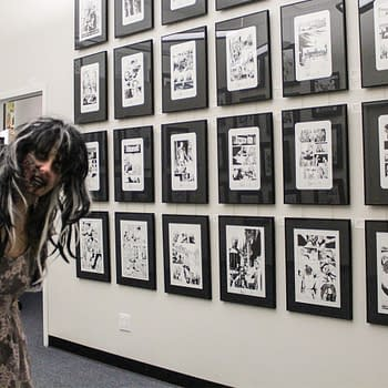 The Walking Dead Original Art Thats To Die For At Metropolis Gallery