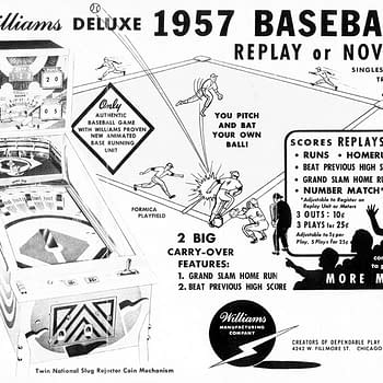 Lauren Looks Back: Williamss 1957 Baseball Deluxe Pinball Machine