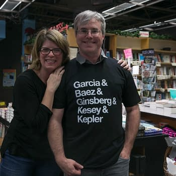 """Artemis"": An Evening With Andy Weir At Kepler's Books"