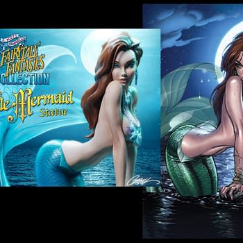 J. Scott Campbell Details The Creation Of His New Little Mermaid Statue For Sideshow