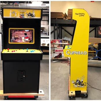 Someone Made A Cuphead Arcade Cabinet