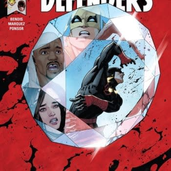 Defenders #7 cover by David Marquez and Justin Ponsor