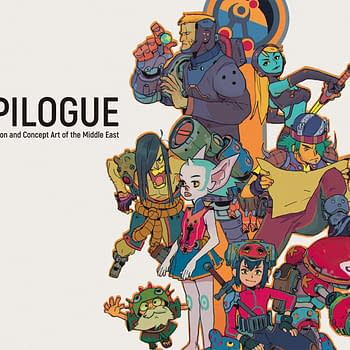 New Udon Art Book Epilogue Showcases Middle-Eastern Artists