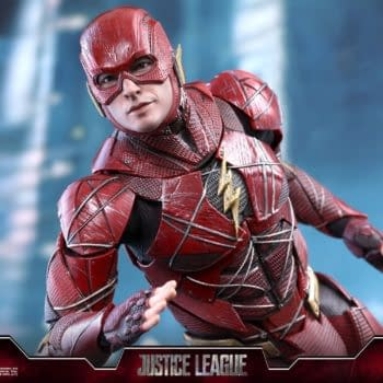 Flash Gets His Justice League Hot Toy As Well