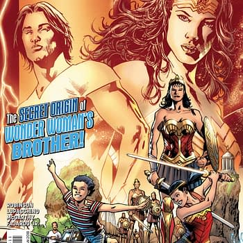 Get Your First Look At Origin Of Wonder Womans Brother Jason Woman In Wonder Woman #35 Preview