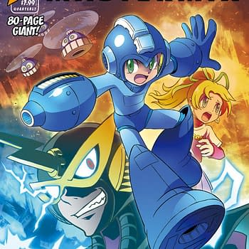 Udons Hitoshi Ariga Mega Man Reprints Will Be An 80-Page Quarterly Series In Color