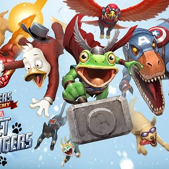 Animals Invade the Avengers Academy for Christmas