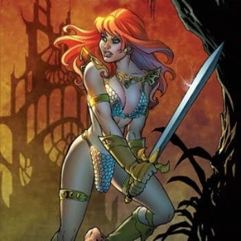 Amanda Conner Bronze Red Sonja Statue Now Available