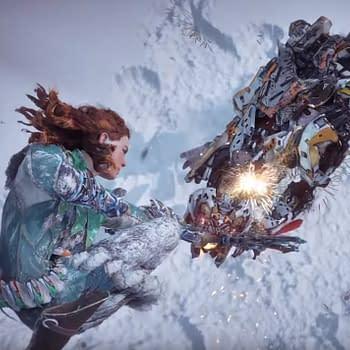 Horizon Zero Dawn: The Frozen Wilds Trailer Shows Off The Scorcher